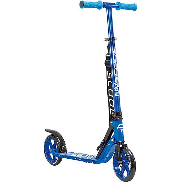 Купить Двухколёсный самокат Scool Flax 8.2, синий, Филиппины, atlantikblau, Унисекс