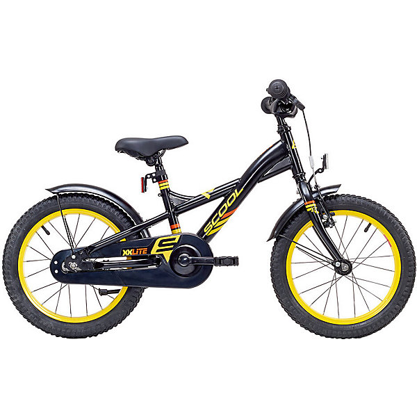 цена на Scool Двухколесный велосипед Scool XXlite 16, чёрный