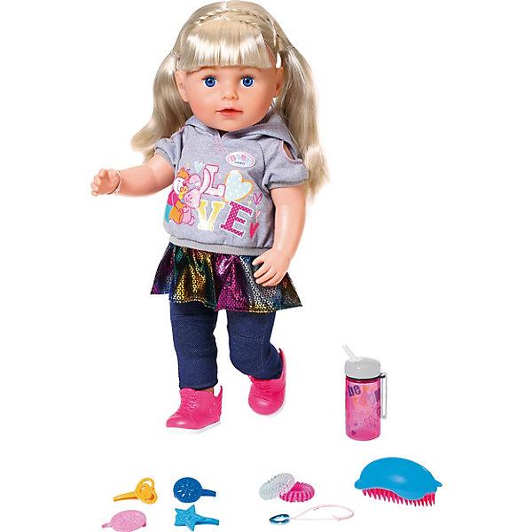 Zapf Creation Интерактивная кукла Zapf Creation Baby born Сестричка, 43 см