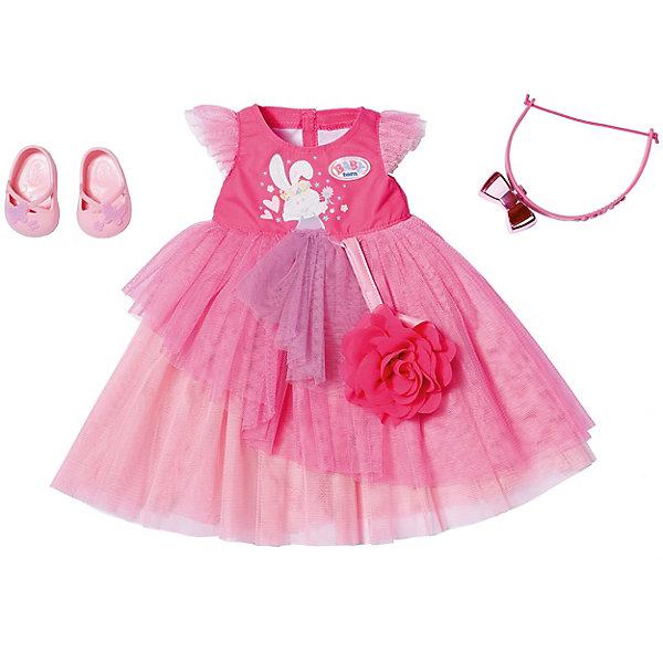 цена на Zapf Creation Одежда для куклы Zapf creation Baby born Бальное платье Делюкс