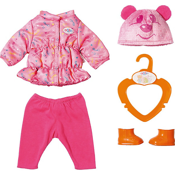 купить Zapf Creation Одежда для куклы Zapf Creation My Little Baby Born Куртка, штанишки и ботинки онлайн
