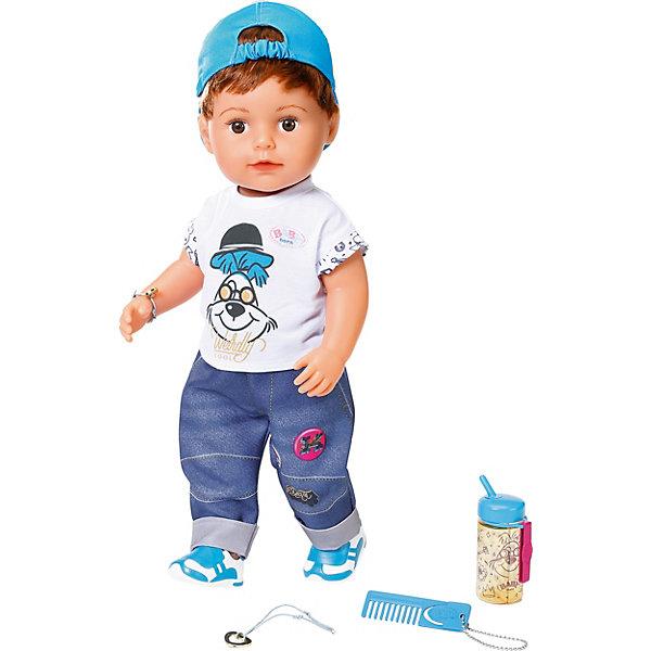 цена Zapf Creation Интерактивная кукла Zapf Creation Baby born Братик, 43 см онлайн в 2017 году