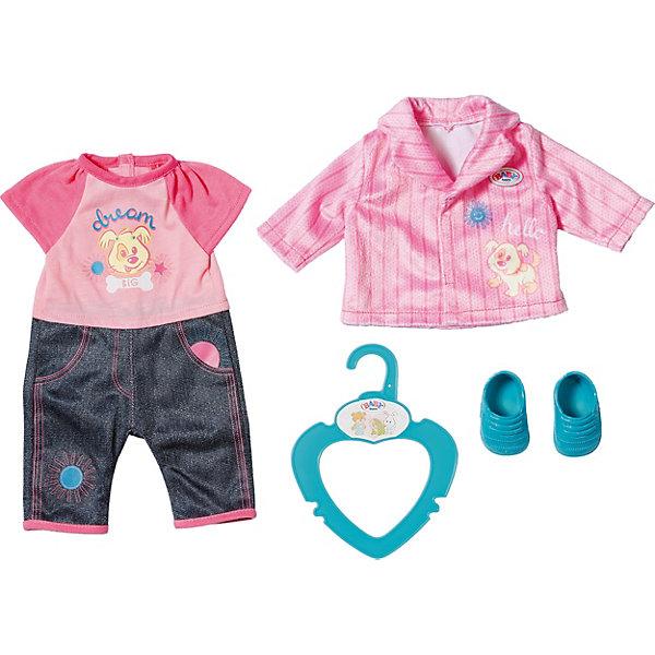 Zapf Creation Одежда для куклы Zapf Creation My Little Baby Born Комплект для детского сада