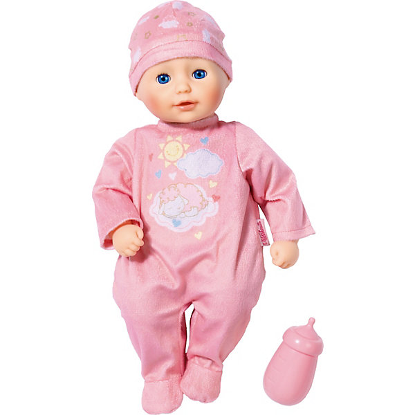 цена Zapf Creation Кукла Zapf Creation my first Baby Annabell с бутылочкой, 30 см онлайн в 2017 году