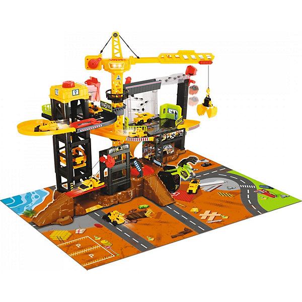 Dickie Toys Игровой набор Dickie Toys Construction свет, звук, 52 см dickie toys игровой набор dickie toys побег из тюрьмы свет звук