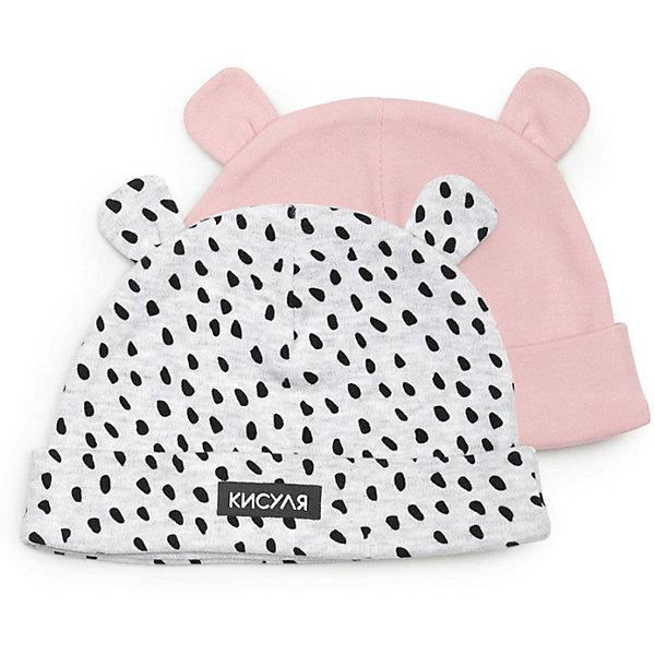 Шапка 2 шт Happy Baby для девочкиХарактеристики:<br><br>• состав ткани: 100% хлопок<br>• сезон: демисезон<br>• страна бренда: Россия<br><br>Шапка защищает уши малыша от ветра и сквозняка в прохладную погоду. Удобный крой обеспечивает комфортную посадку. Хлопок деликатно контактирует с кожей, ребёнку не будет жарко. Дизайн с 3D-ушками.