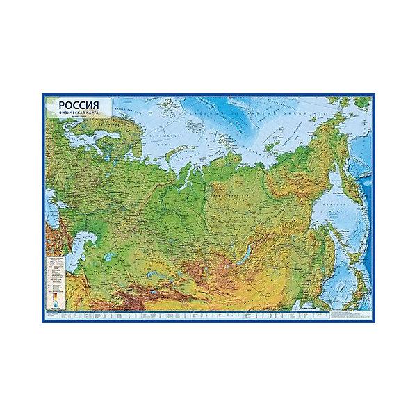 """Globen Карта """"Россия Физическая"""""""