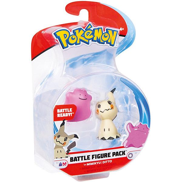 Росмэн Игровой набор Pokemon Мимикью и Дитто