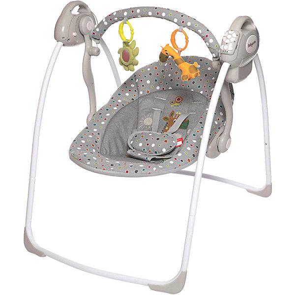 Baby Care Электрокачели Riva, Baby Care, серые цена