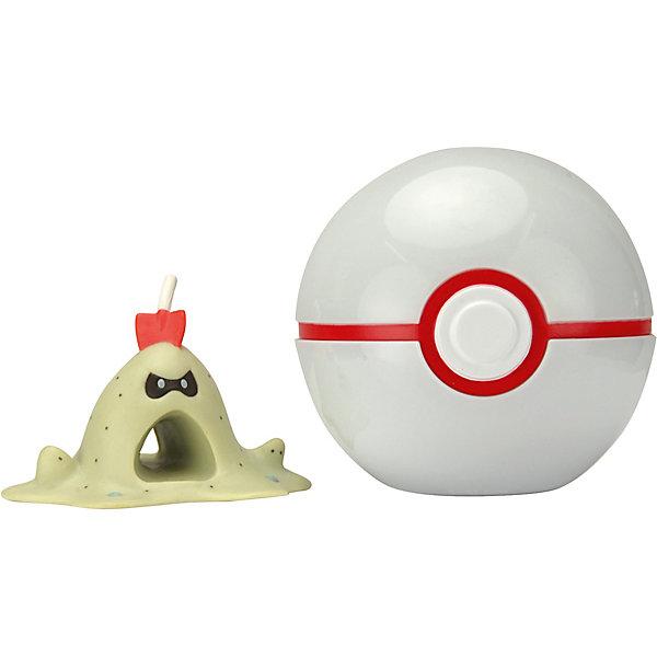 Росмэн Игровой набор Pokemon Покебол и Сендигаст