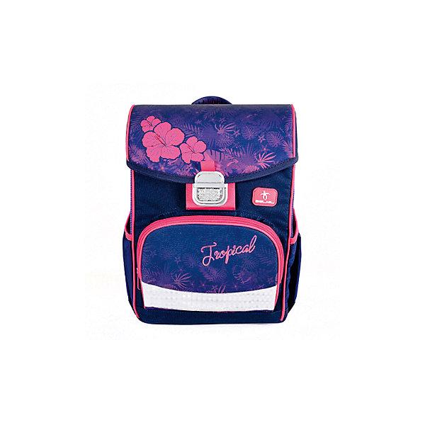 Ранец Belmil Click Flamingo, фиолетово-розовый, Сербия, фиолетовый, Женский  - купить со скидкой