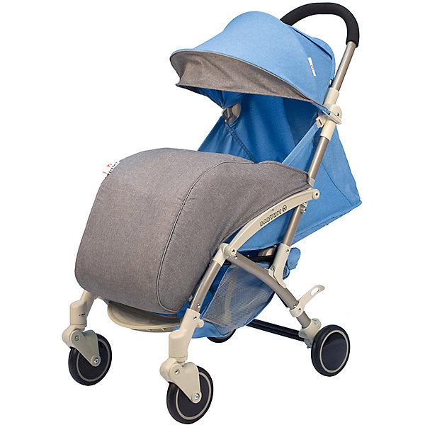 Коляска прогулочная Babyhit Allure голубая с серым, светлая рама Baby Hit