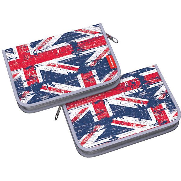 цена на Erich Krause Пенал Erich Krause British Flag, без наполнения