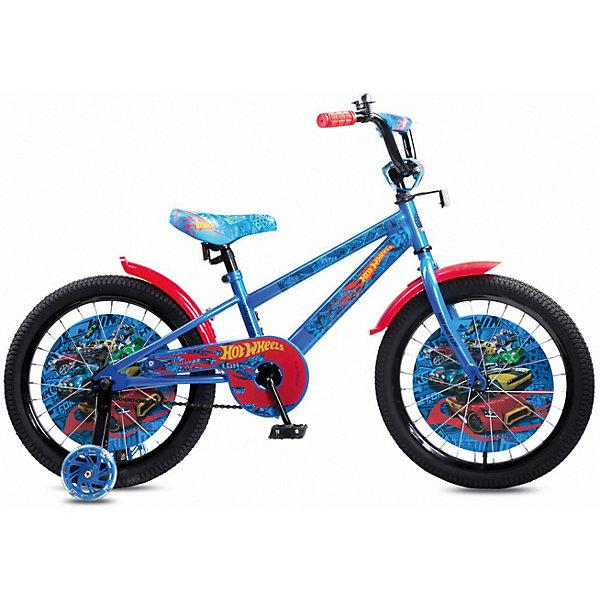 Купить Двухколесный велосипед Navigator Hot Wheels, 18 дюймов, Китай, разноцветный, Унисекс
