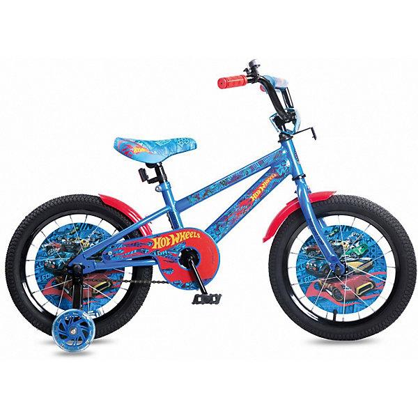 Купить Двухколесный велосипед Navigator Hot Wheels, 16 дюймов, Китай, разноцветный, Унисекс