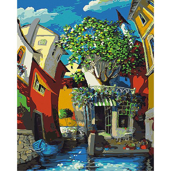 Набор для раскрашивания по номерам Артвентура  Венецианский дворик Мигеля Фрейтаса»Картины по номерам<br>Характеристики:<br><br>• тип товара: набор для раскрашивания <br>• комплектация: холст на подрамнике, краски, набор кистей, инструкция, контрольный лист, подвесы для картины, палитра-держатель для баночек, стаканчик для принадлежностей<br>• размер: 40х50 см<br>• страна бренда: Россия<br><br>Набор для творчества позволит научиться рисовать. Он содержит все необходимое для создания картины. Холст размечен цифрами и контурами, по которым наносится краска из промаркированных баночек. Набор имеет уникальный сюжет.