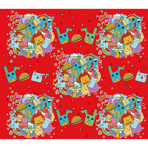 Феникс-Презент Упаковочная бумага Феникс-Презент Чудики феникс презент картина репродукция роза феникс презент