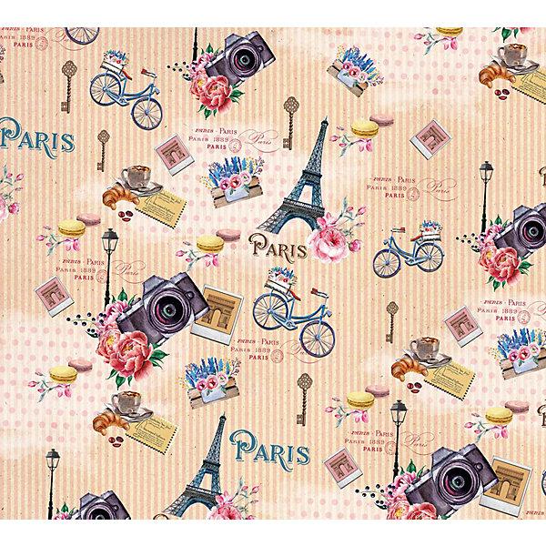 Феникс-Презент Упаковочная бумага Прогулка по Парижу