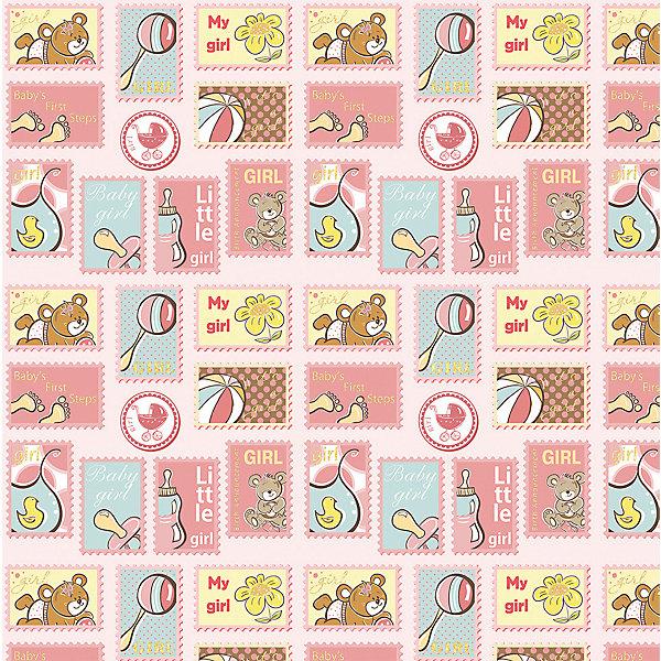 Упаковочная бумага Феникс-Презент Нежно розовый подарокДетская упаковочная бумага<br>Характеристики:<br><br>• материал: бумага<br>• страна бренда: Россия<br><br>Бумага предназначена для упаковки подарков и подарочных коробок. Кроме того, подходит для создания поделок, например, бумажных гирлянд. Товар оформлен красочным изображением с авторским дизайном.