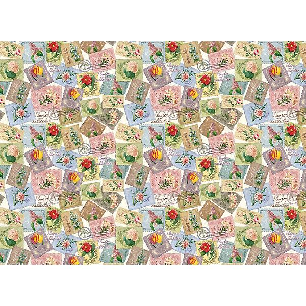 Феникс-Презент Упаковочная бумага Феникс-Презент Марки с цветами шкатулка сейф феникс презент ретро авто