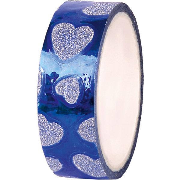 Феникс-Презент Декоративная самоклеящаяся лента Синий глянец