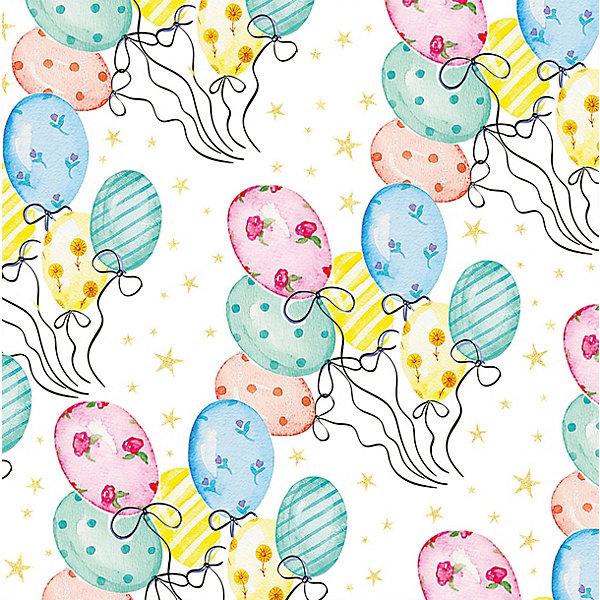 Феникс-Презент Упаковочная бумага Весёлые шары