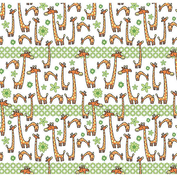 Феникс-Презент Упаковочная бумага Жираф на поле