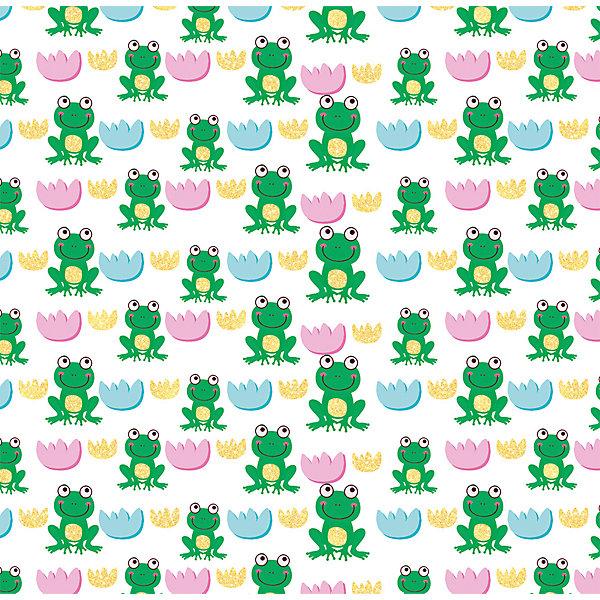 Феникс-Презент Упаковочная бумага Феникс-Презент Зелёная лягушка феникс презент картина репродукция роза феникс презент