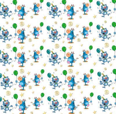 Фото - Феникс-Презент Упаковочная бумага Феникс-Презент Кот и бегемот бумага для упаковки подарков stillera gkp 01 крафт бумага 03 дамаск