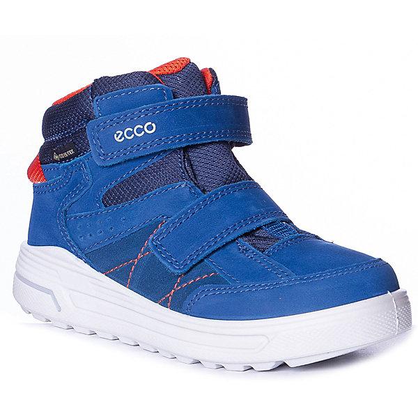 Купить Утеплённые ботинки ECCO, Индонезия, синий, 35, 29, 34, 30, 33, 31, 28, 32, 27, Мужской