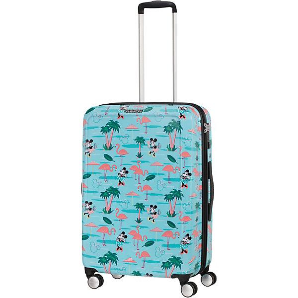 American Tourister Чемодан American Tourister Минни Майями пляж, высота 67 см чемодан american tourister 4 колеса 71 см