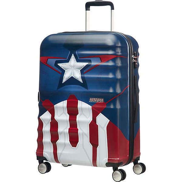 American Tourister Чемодан American Tourister Капитан Америка, высота 67 см цена и фото