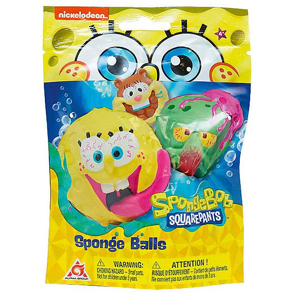 Alfa Group Мяч-антистресс SpongeBob, 5 см