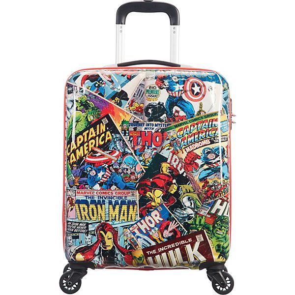 American Tourister Чемодан American Tourister Комиксы, высота 55 см чемодан american tourister 4 колеса 71 см