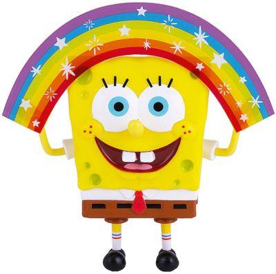 """Губка Боб Фигурка """"Губка Боб"""" мем-коллекция: Губка Боб радужный, 20 см"""