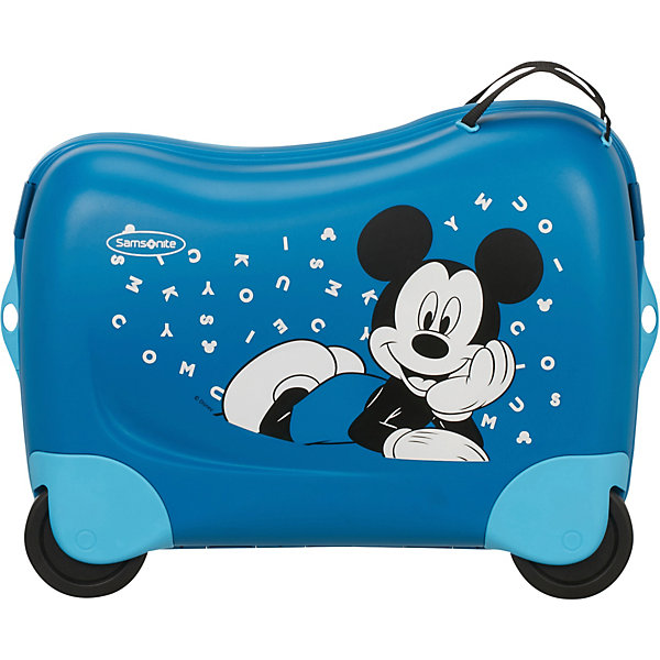 Samsonite Чемодан Samsonite Микки алфавит, высота 39 см чемодан disney by samsonite микки алфавит 43c 11001 4 колесный s до 55 см 28 л