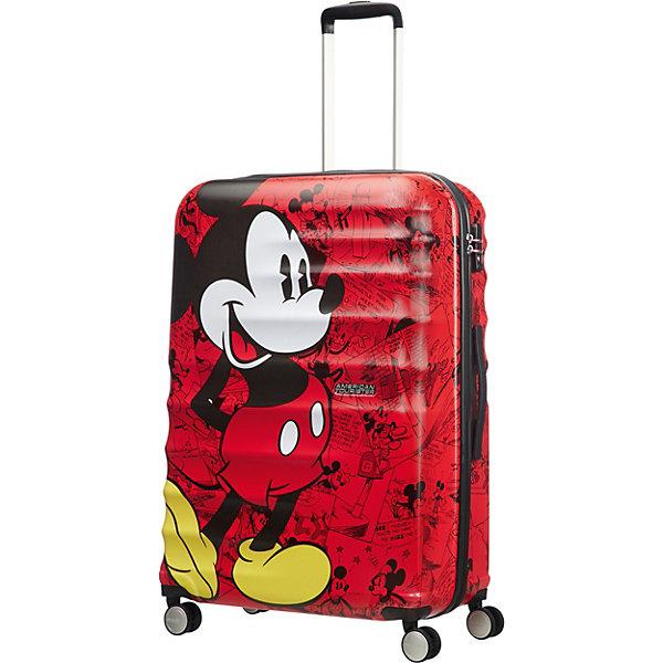 American Tourister Чемодан American Tourister Микки, высота 77 см чемодан airport 77 см черный 4 колеса