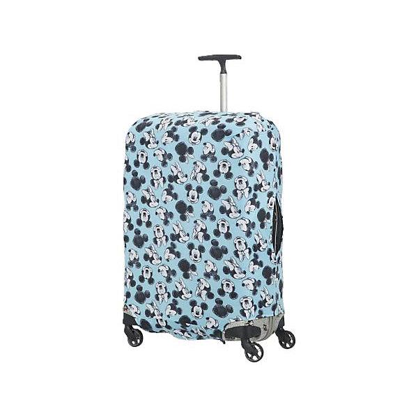 Samsonite Чехол для чемодана Samsonite Микки, Минни, синий 86 см