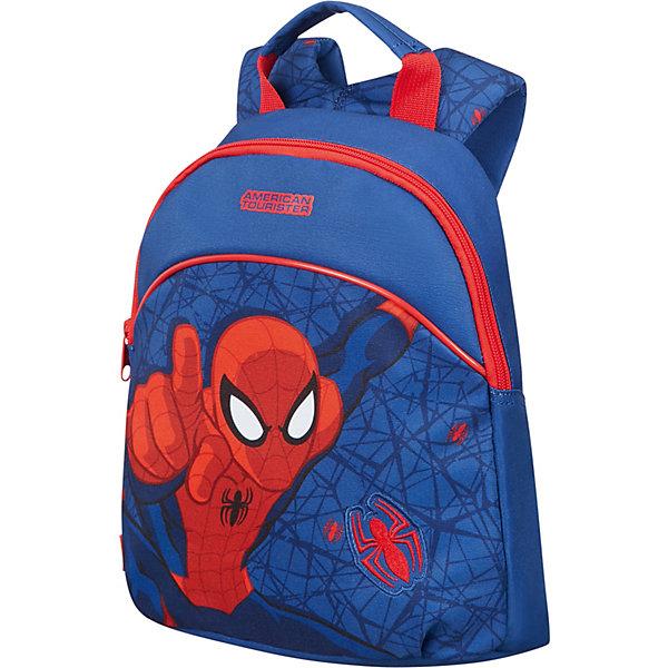 Купить Рюкзак American Tourister Человек-паук , Китай, разноцветный, Мужской