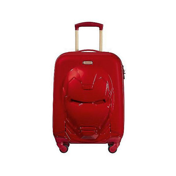 Samsonite Чемодан Samsonite Железный Человек красный, высота 55 см чемодан airport 72 см красный 2 колеса