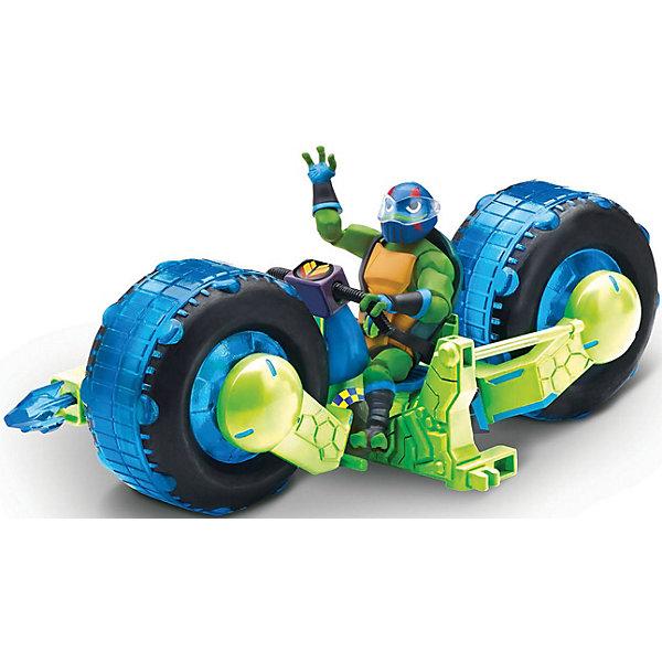 PLAYMATES Мотоцикл Playmates с фигуркой Лео, серия ROTMNT