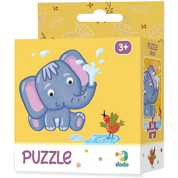 Dodo Пазл Dodo Слоненок, 16 элементов пазл для малышей dodo 4в1 времена года