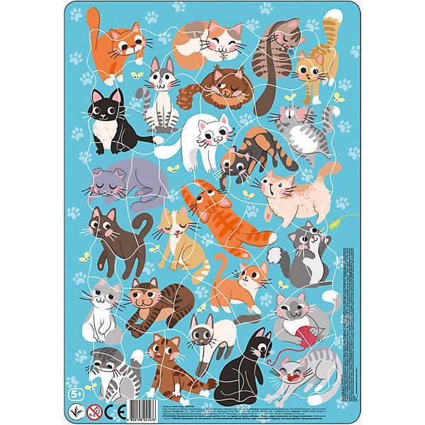 "Пазл в рамке Dodo ""Коты"", 53 элемента   11495285"