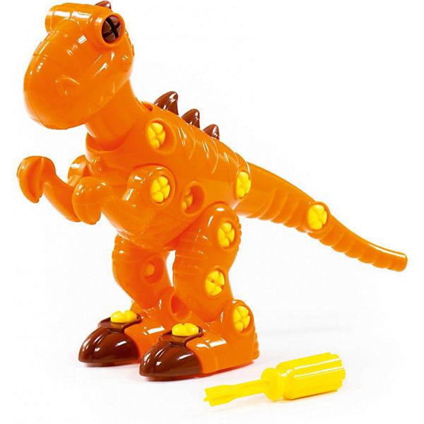 Фото - Полесье Конструктор-динозавр Полесье «Тираннозавр» полесье набор игрушек для песочницы 468 цвет в ассортименте