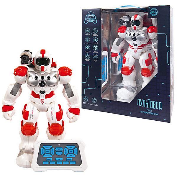Купить Интерактивный робот Junfa Пультовод , бело-красный, Junfa Toys, Китай, красный/белый, Мужской