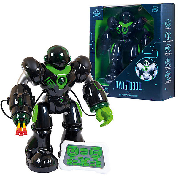 Купить Интерактивный робот Junfa Пультовод 42 см, чёрно-зелёный, Junfa Toys, Китай, schwarz/grün, Мужской