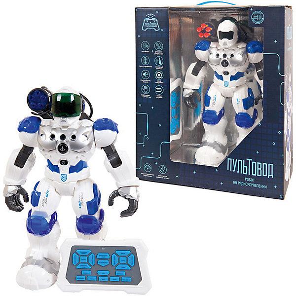 Купить Интерактивный робот Junfa Пультовод , бело-голубой, Junfa Toys, Китай, синий/белый, Мужской