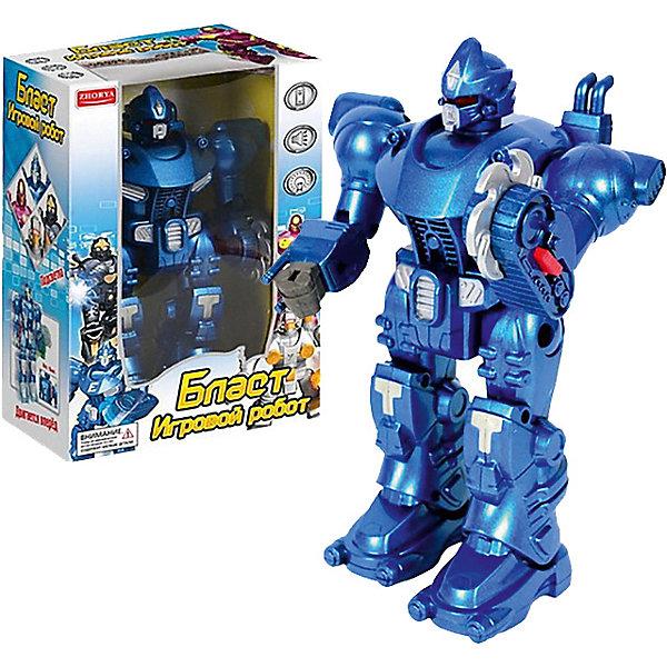 Купить Интерактивный робот Junfa Бласт , синий, Junfa Toys, Китай, atlantikblau, Мужской
