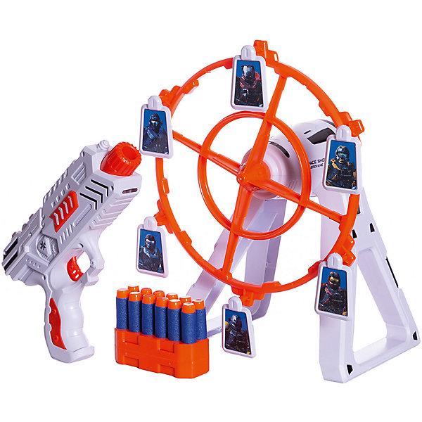 Купить Игровой набор Junfa Галактическое оружие , Пистолет и установка для мишеней, Junfa Toys, Китай, разноцветный, Мужской