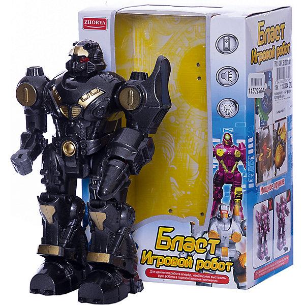 Купить Интерактивный робот Junfa Бласт , чёрный, Junfa Toys, Китай, черный, Мужской